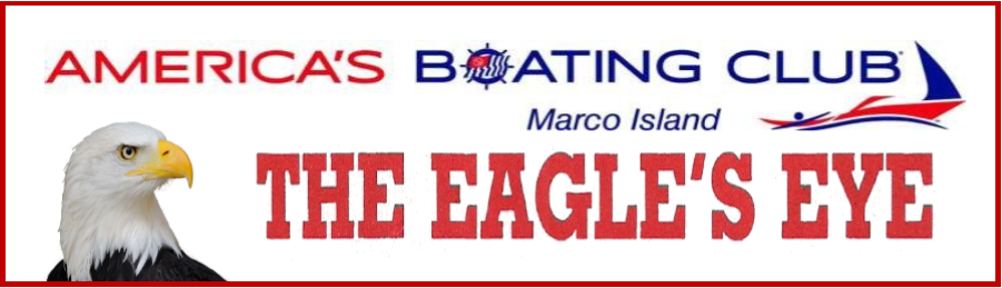 "Eagles Eye header, ""America's Boating Club, The Eagle's Eye"""